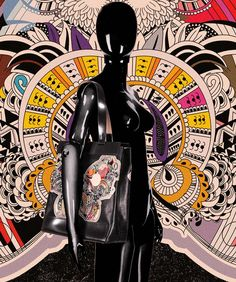 """""""BUTTERFLY EFFECT"""" by #AncaStefanescu STARTING FROM 15TH OF SEPTEMBER 2015 #LimitedEdition #Art & #Artwares #LeatherBags & #Handbags #Belts #Tshirts"""