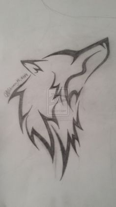 Tribal Wolf Tattoo by FullMoonSong at deviantart – love this Tribal Drawings, Cool Art Drawings, Pencil Art Drawings, Tribal Wolf Tattoo, Wolf Tattoo Design, Tattoo Designs, Girl Drawing Sketches, Animal Sketches, Tattoo Sketches