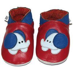 Krabbelschuhe UMS - Elefant    Handgefertigte Lederpuschen aus qualitativ hochwertigem Rindnappa-Leder    Die Schuhe werden aus extraweichem RINDNAPPA-Leder handgefertigt (keine Gummisohle) und passen sich so jeder Fußbewegung Ihres Kindes an.  Die Sohle besteht aus Wildleder, somit ist ein sicheres Laufen auf glatten Böden kein Problem.