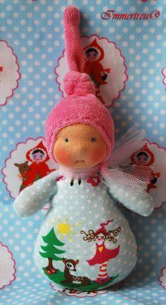 waldorf inspired Mini Milli Mädchen by Immertreu®