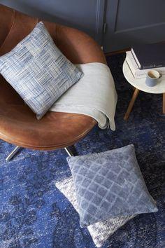 KAAT Amsterdam Miyabi - Sprei - 180x260 cm - Blauw Grijs
