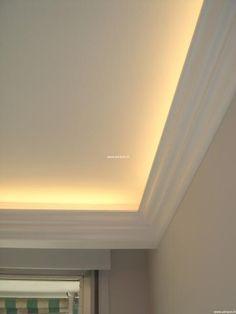 La corniche décorative pour vos plafonds lumineux type néon