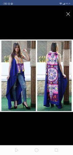 Ramadan Crafts, Kimono Top, Fashion Outfits, Orange, Clothes, Tops, Design, Decor, Women