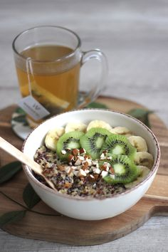Porridge de Quinoa                                                                                                                                                                                 Plus