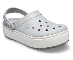 online shopping for Crocs Women's Crocband Platform Clog from top store. See new offer for Crocs Women's Crocband Platform Clog Comfy Shoes, Comfortable Shoes, Clogs, Sneakers Fashion, Fashion Shoes, Crocs Crocband, Grey Roses, Rubber Shoes, Mode Online