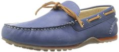 Durable yet very stylish and versatile....Tommy Hilfiger Men's Leigh Navy Driver Loafer