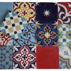 Patchwork #1 - Marrakesh Cementlap