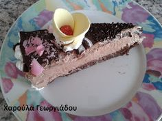 Haroula's Kitchen (συνταγολόγιο μαγειρικής- ζαχαροπλαστικής): ΠΑΣΤΑ ΤΑΨΙΟΥ ΣΟΚΟΛΑΤΙΝΑ (ΤΗΣ ΣΟΦΗΣ ΤΣΙΩΠΟΥ) Tiramisu, Cheesecake, Pudding, Ethnic Recipes, Desserts, Food, Tailgate Desserts, Deserts, Cheesecakes