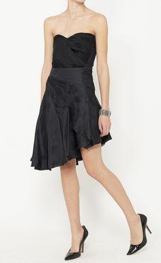 Emanuel Ungaro Black Skirt