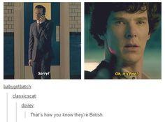 So british