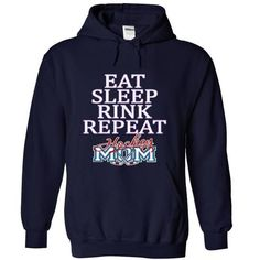 EAT, SLEEP, RINK, REPEAT, HOCKEY MOM T-Shirt Hoodie Sweatshirts aei. Check price ==► http://graphictshirts.xyz/?p=91680