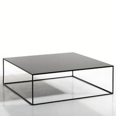 Table basse métal carrée Romy