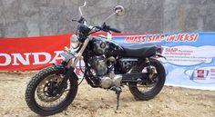 Modifikasi motor Honda Tiger gaya jap style - Bali