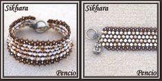 schéma du bracelet Sikhara  - offert généreusement par Pencio