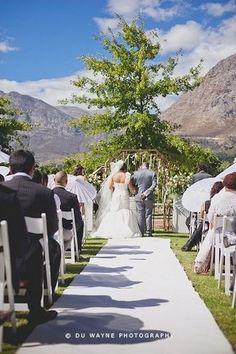 Top 20 Garden & Outdoor Wedding Venues in Cape Town #tree| Confetti Daydreams - Wedding #ceremony venue at #La #Petite #Dauphine #Guest #Farm ♥ #Garden #Outdoor #Wedding #Venues #Cape #Town