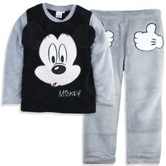 Disney Mickey Mouse Boys Warm Sport Trousers Joggers Jogging Bottoms 2-8 Years