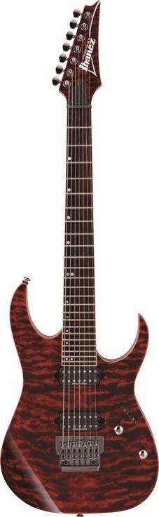 #Ibanez Premium Series RG927QMFRDT #Guitar