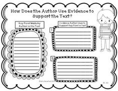 Common Core Reading Informational Text Graphic Organizers $
