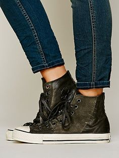 Converse Staple Hi Top Chucks at Free People Clothing Boutique Chuck Taylors, Me Too Shoes, Must Haves, High Tops, Trainers, High Top Sneakers, Free People, Fashion Jewelry, 4 Life