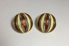 See new listings daily - follow us for updates.  Christmas in July Sale Signed Boucher Earrings - #Vintage Vented Sphere Earrings - Mod 1960's - Gold Tone - Clip On Earrings - Offered by MimisJewelryBoutique  These classic... #vintage #jewelry #teamlove #etsyretwt #bestofetsy #mimisjewelryboutique ➡️ http://jto.li/wj3zF