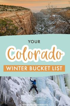 Wondering what to do in Colorado? Colorado is one of the best winter destinations in the USA for outdoor lovers, so I decided to round up your ultimate Colorado winter bucket list with the best things to do, places to visit, and more in Colorado! #Colorado