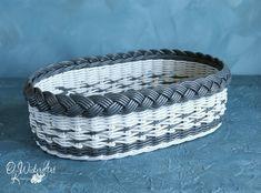 Плетение из газет Wicker Tray, Wicker Baskets, Laundry Basket, Weaving, Loom Weaving, Crocheting, Knitting, Hand Spinning, Soil Texture