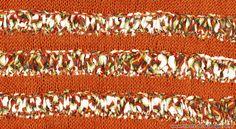 Le pull Vaison-la-Romaine couleurs ocres ZOOM
