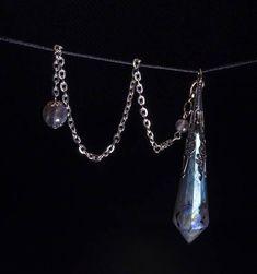 AAAAA labradorite Crystal Pendulum