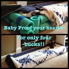 Baby proof your hearth for only four bucks!