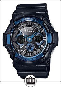 Casio GA-200CB-1AER - Reloj de pulsera Hombre, resina, color Negro de  ✿ Relojes para hombre - (Gama media/alta) ✿