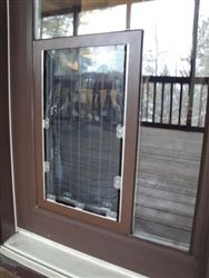 security boss website intheglass maxseal pet door through glass pet