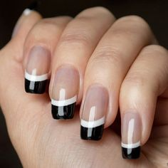 Elegant and Trendy Designs For a Stunning French Manicure ★ See more: https://naildesignsjournal.com/elegant-french-manicure-designs/ #nails