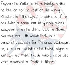 Theory. He does freak me out a little