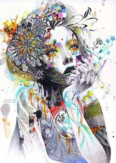 Art like this is so awesome <3 via | www.HippiesHope.com