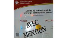 Agréément Canada - Isomed Clinique chirurgie esthétique et médecine privée - Rive-Sud Canada, Ambulatory Care