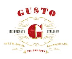 "Gusto - owner, Vic Casanova was an ""Iron Chef America"" contestant and the executive chef at Culina at Four Season Beverly Hills"