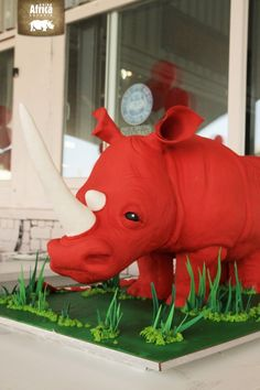 The ultimate rhino cake... for our 9th Birthday!   http://www.rhinoafrica.com/blog/2013/08/06/the-ultimate-birthday-cake-starring-charlys-bakery/