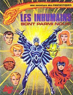 Fantastiques (Une aventure des) -1- Les Inhumains sont parmi nous !