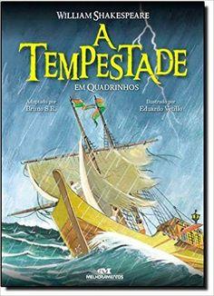 A Tempestade Em Quadrinhos: William Shakespeare, Eduardo Vetillo: Amazon.com.br: Livros