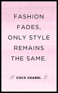 Coco #Chanel #fashion #quote