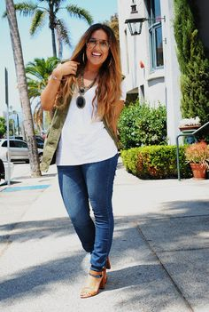 A Gap white T as featured on the blog Fashion with Ellie.