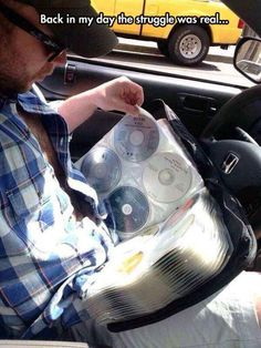 Kids these days will never know.