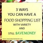 3 Ways You Can Have A Food Shopping List With Variety And Save Money : The Grocery Game Challenge #2 Nov 16-22, 2015