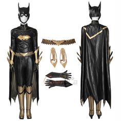 Item Number:gmark001, Batgirl Costume Batman: Arkham Knight Cosplay Deluxe Version Full Set Halloween On Sale! CoserCos.com offers best quality Dulex cosplay costumes.