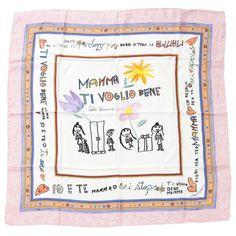 DOLCE & GABBANA Multicolour Silk Scarf   Vestiaire Collective