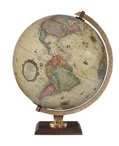 Love a globe for the living room