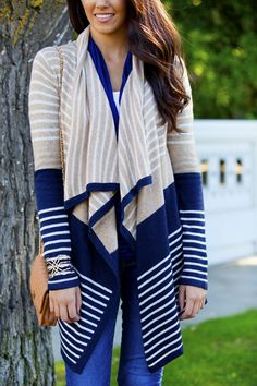 East Hampton Draped Cardigan
