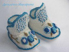 Вязаные крючком детские пинетки. Пинетки для от CrochetedStories