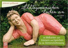 Sondereinband: 32 Karten Verlag: Verlag an der Ruhr Erscheinungsdatum: 1. Januar 2014 ISBN-10: 3834623865 ISBN-13: 978-3834623867 Inhalt 30 Bildkarten zum Erinnern und Sprechen für die Demenzbetreu…