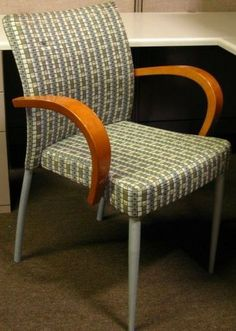 Keilhauer Side Chair Stripe With Pattern   Get A Quote Today For Your Next  Office Furniture
